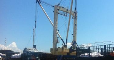 Tàu Hana Thetis chở 6.829 tấn phân S.A (Capro Grade) cập cảng Quy Nhơn