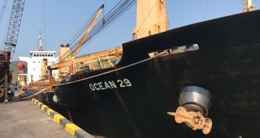 TÀU MV. OCEAN 29 VẬN CHUYỂN HƠN 6600 TẤN SA NHẬT BẢN TP+ (CAPRO GRADE) DỰ KIẾN CẬP CẢNG QUY NHƠN 25/03/2021