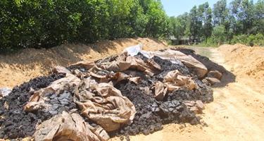 Bảo vệ đất trồng bằng bón phân cân đối